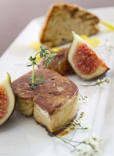 Fegato: Roasted Goose Liver with Caramelized Figs and Panspeziato - Garibaldi restaurant KL