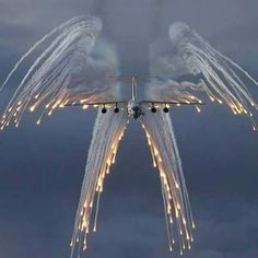 An Angel Flight. The aircraft used to bring our dead soldiers home.