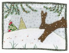 Sharon Blackman- Love the embroidered pine trees.
