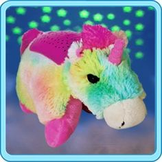 Pillow Pets Plush Dream Lites NightLite Rainbow Unicorn