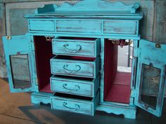 distressed jewelry box