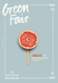 Plakatdesign GREENFAIR bungalow kreativbüro Mai 2017 Poster design for GREEN FAIR Würzburg The Poster art is showing different parts of sustainable life as obje. Layout Design, Design De Configuration, Graphisches Design, Flyer Design, Logo Design, Design Ideas, Text Design, 2017 Design, Design Hotel