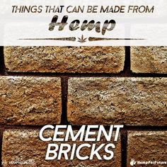 #Hemp has great potential to revolutionize the building industry. It can be processed into a more sustainable & durable brick, fiber board (replace drywall), & insulation, which are mold, rot, & mildew resistant. Support the Hemp #Movement by making Hemp part of your everyday.