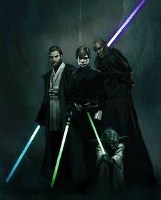 The Jedi star wars Star Wars Jedi, Star Wars Rebels, Star Wars Concept Art, Star Wars Fan Art, Star Wars Pictures, Star Wars Images, Disney Pixar, Starwars, Geeks