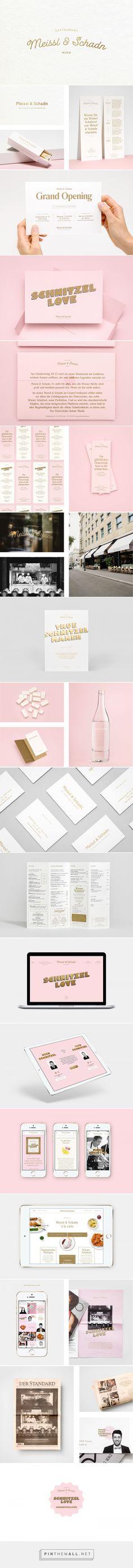 Meissl & Schadn restaurant branding by Moodley Brand Identity