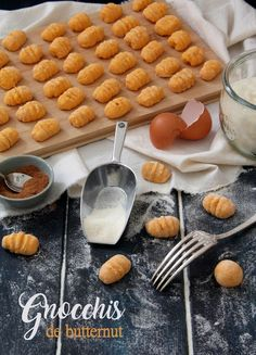 Cette semaine je vous propose de goûter les gnocchis de butternut dont le parfum et la douceur sauront vous séduire !