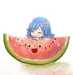The lady n' melon of water by Bludy-chu on deviantART