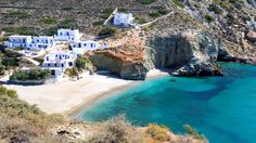 Folegandros Beaches, Greece in World's Sexiest Beaches from Travel Channel