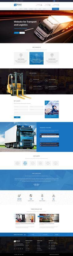 Max Logistics Transport & Logistics PSD Template - Download theme here : http://themeforest.net/item/max-logistics-transport-logistics-psd-template/11996456?ref=pxcr