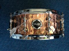 Crush Copper Hand Hammered 14x5 5 Snare Drum