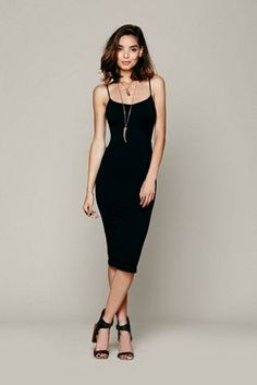 Seamless slip dress.  Just stunning, and only $34 from Free People!