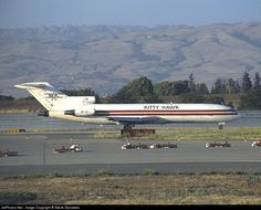Boeing 727-251F, Kitty Hawk Aircargo, N279US, cn 21158/1177, Cargo, first flight 3.12.1975 (Northwest Airlines), Kitty Hawk delivered 29.9.1995, next Airlease International (2.2.2009). Stored. Foto: San Jose, USA, 6/2002.