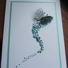 Shine On--love this card from whoever made it. So classy and pretty, well thought out.