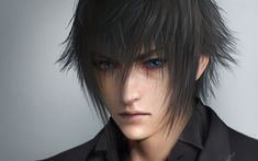 Download wallpapers 4k, Noctis Lucis Caelum, protagonist, Final Fantasy, Crown Prince, Final Fantasy XV