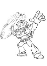 buzz coloring pages