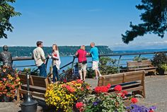 Puget Sound Wineries:  Explore a loop of seven wineries on unspoiled South Whidbey Island who are making serious wines and scoring well deserved attention.  #WAwine #Wine #PugetSoundWine
