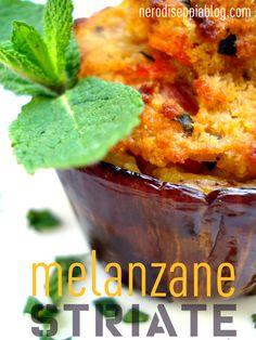 striped eggplants stuffed and baked - melanzane striate ripiene al forno