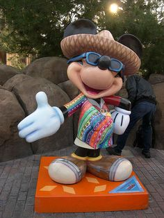 Danny would love this. Fiesta Mickey, complete with a sombrero.
