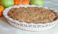 Just used this recipe to make some yummy apple crisp for Mike from the apples we picked when we went apple picking last weekend :) Its SO easy and SO good!!!