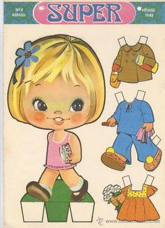 recortables muñecas de papel, paper dolls, bambole da carta, poupées en papier - merimartinez1 - Picasa Webalbum Cardboard Paper, Paper Toys, Candy Crafts, Paper Crafts, Christmas Barbie, Kawaii Doodles, Paper Animals, Color Activities, All Paper