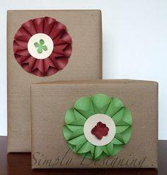 DIY Gift Bows | embrulhos natal
