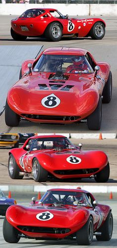 Cheetah owned and raced by Alan Green Chevrolet