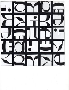 Typography Composition- Didot, via Flickr.
