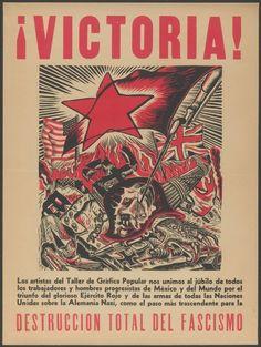 Exhiben los grabados combativos y antifascistas del Taller de Gráfica Popular mexicana