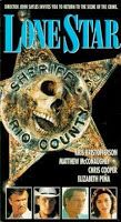 Lone Star  (1996)  R  Sherriff Sam Deeds (Chris Cooper) is a local Texas lawman who gets called in when human bones are found out in the desert.  Deeds begins investigating the murder, which occured over forty years ago and he gets deeper and deeper into an investigation that has many mysteries, some involving his father, the former sheriff (Mathew McConaughey).