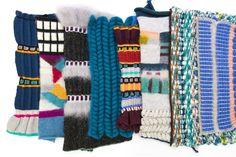 The Darker Horse: Knit Textile Designer: Ilana Avital Jones