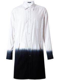 Ann Demeulemeester Dip Dyed Shirt Dress