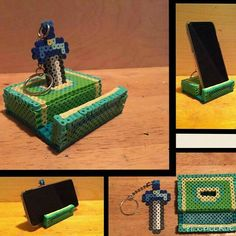 LoZ master sword Keychain and phone stand