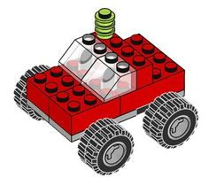LEGO - Build Together  HEAPS OF INSTRUCTIONS for simple lego builds.