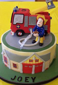 Fireman Sam Birthday Cake | Shared by LION