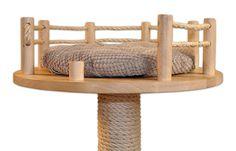 Luksusowy drapak z litego drewna - szybka wysyłka