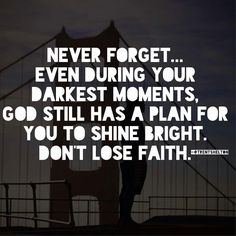 God has a plan quote
