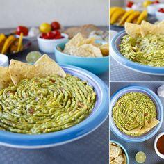 Fitness guacamole - zdravý recept Bajola Guacamole, Hummus, Vegan, Ethnic Recipes, Fitness, Food, Essen, Meals, Vegans