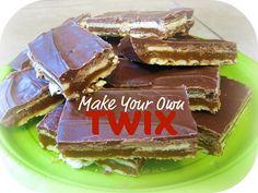 TWIX BARS  48 Club Crackers (a few more than one sleeve)  1 c. graham cracker crumbs (one sleeve)  1/3 c. sugar  3/4 c. brown sugar  1/3 c. milk  1/2 c. butter  Topping:  1 1/2 c. semi-sweet chocolate chips  1 1/2 c. vanilla baking chips