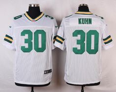 Green Bay Packers Elite 30 huhn white jerseys