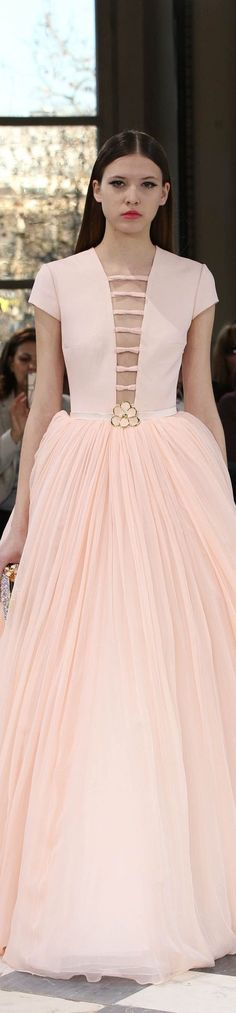 Georges Hobeika Spring 2016 Couture...Pretty details to recreate. Recreate 2-3 details & change the embellishments to fit the wedding theme. Contact me for suggestions.