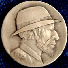 Don Wolfe Hobo Nickel, Buffalo, Classic Style, Carving, The Originals, Wood Carvings, Sculptures, Printmaking, Water Buffalo