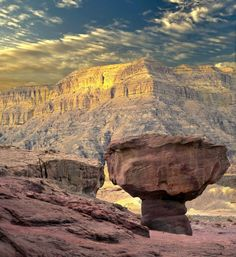 UNESCO World Heritage site Timna Park is home to the world's first copper mines, dug some 6,000 years ago.