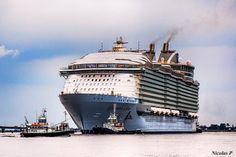 Iniziano i sea trial per Harmony of the Seas