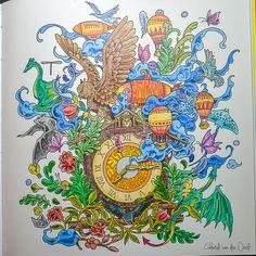 Imagimorphia Coloring Faber Castell Polychromos