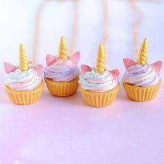 colar cupcake unicórnio