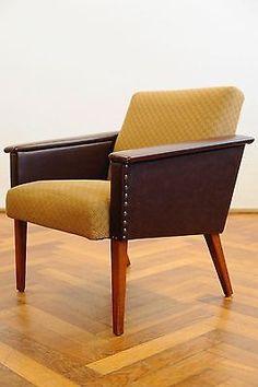 Vintage 70er Easy Chair Sessel Clubsessel Armlehnenstuhl Mid Century Jalk Juhl    eBay