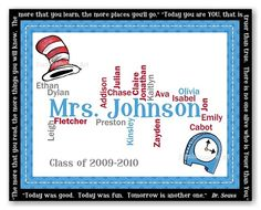 Dr. Seuss Welcome back to school bulletin board