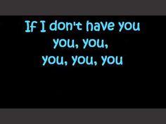 Whitney Houston - I have nothing (lyrics on screen) - YouTube