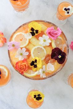 We caught up with Eden Passant of Sugar & Charm to see how she celebrates summer and uses the most edible flowers we've ever seen!