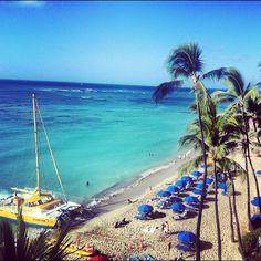 Waikiki beach- Oahu, Hawaii